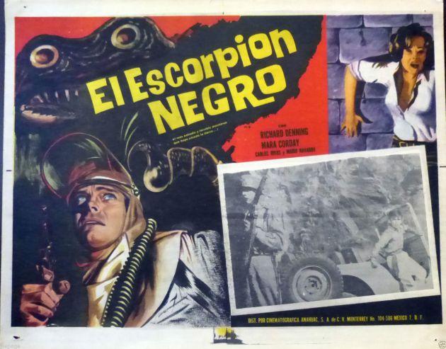 black scorpion el escorpion negro mexican