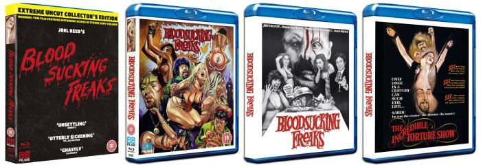 bloodsucking freaks 88 Films blu-ray artwork