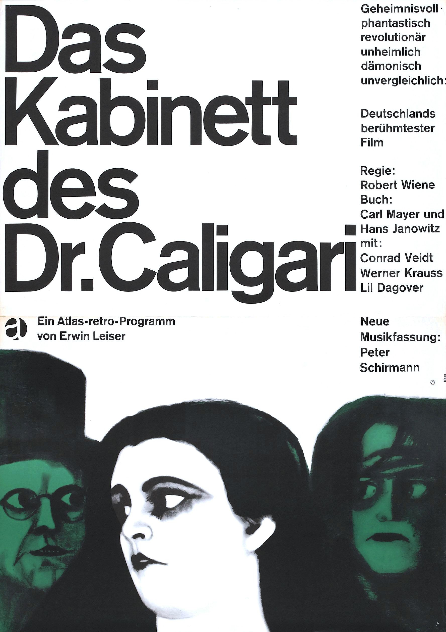 The Cabinet of Dr. Caligari -Germany, 1920 – HORRORPEDIA