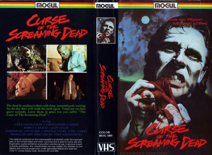 Curse of the Screaming Dead VHS032