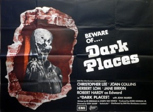 dark places british EMI quad poster