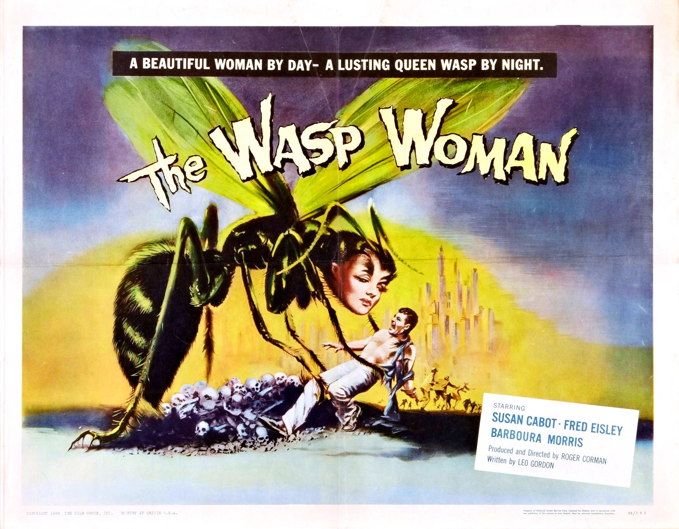 wasp_woman_roger_corman_postermrhorrorpediawasp_woman_roger_corman_posterwasp_woman_lobby_card_112-Horror-Cult-Classics-DVDwasp_woman_lc_04wasp_woman_lc_07wasp_woman_lc_08Wasp-Woman-lobby-cardroger corman monsters dvdBeast from Haunted Cave + wasp womanThe-Fly-Wasp-Woman-UK-X-cert-quad-posterELVIRA-MISTRESS-OF-THE-DARK-THE-WASP-WOMAN-AND-THE-CRAWLING-HAND