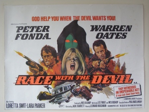 Race with the Devil UK quad poster
