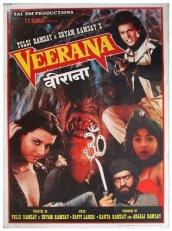 veerana poster indian horror tulsi ramsay shyam ramsay