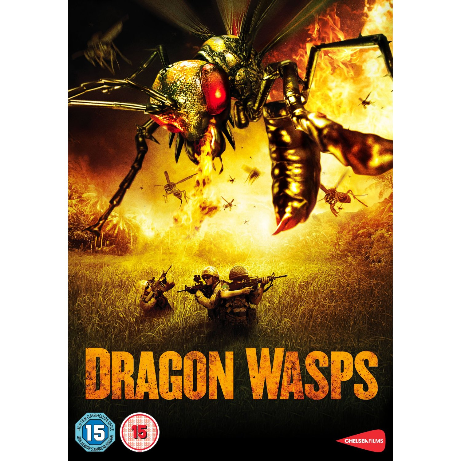 dragon wasps chelsea films british uk dvd1 Bug Movies From The Twenty First Century