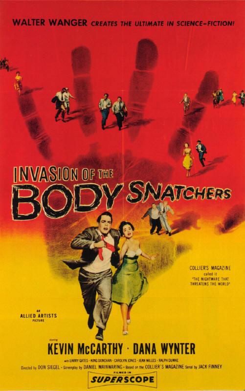 Invasion of the Body Snatchers (1956) – HORRORPEDIA