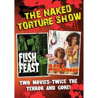 naked torture double feature flesh feast 3 on a meat hook dvdjpg