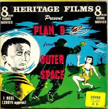 Plan Nine From Outer Space (1959) 8MM Movie box