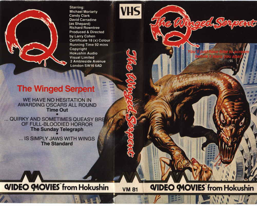 Q The Winged Serpent 1982  Larry Cohen  Synopsis