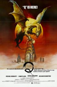 Q winged serpent US poster