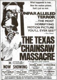 TEXAS CHAINSAW FEB 1981