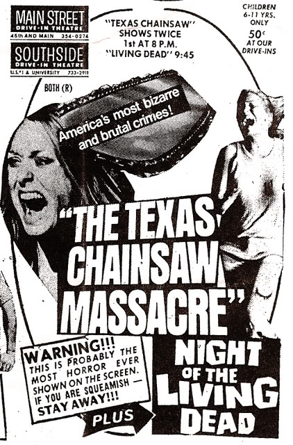 texas chainsaw massacre + night of the living dead