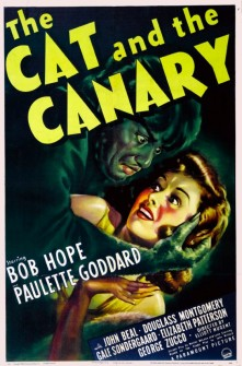 CatAndTheCanary1939poster