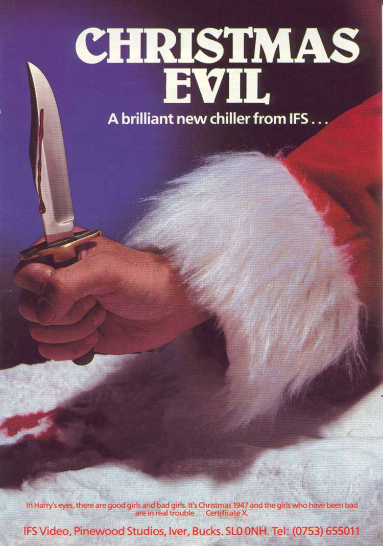 Christmas Evil aka You Better Watch Out (1980) – HORRORPEDIA
