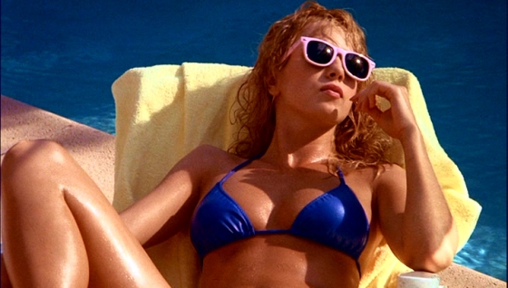 Not of This Earth 1988 Traci lords bikini