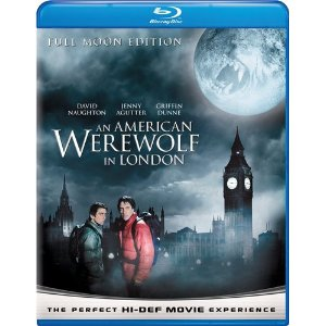 american werewolf blu-ray full moon 2009 edition