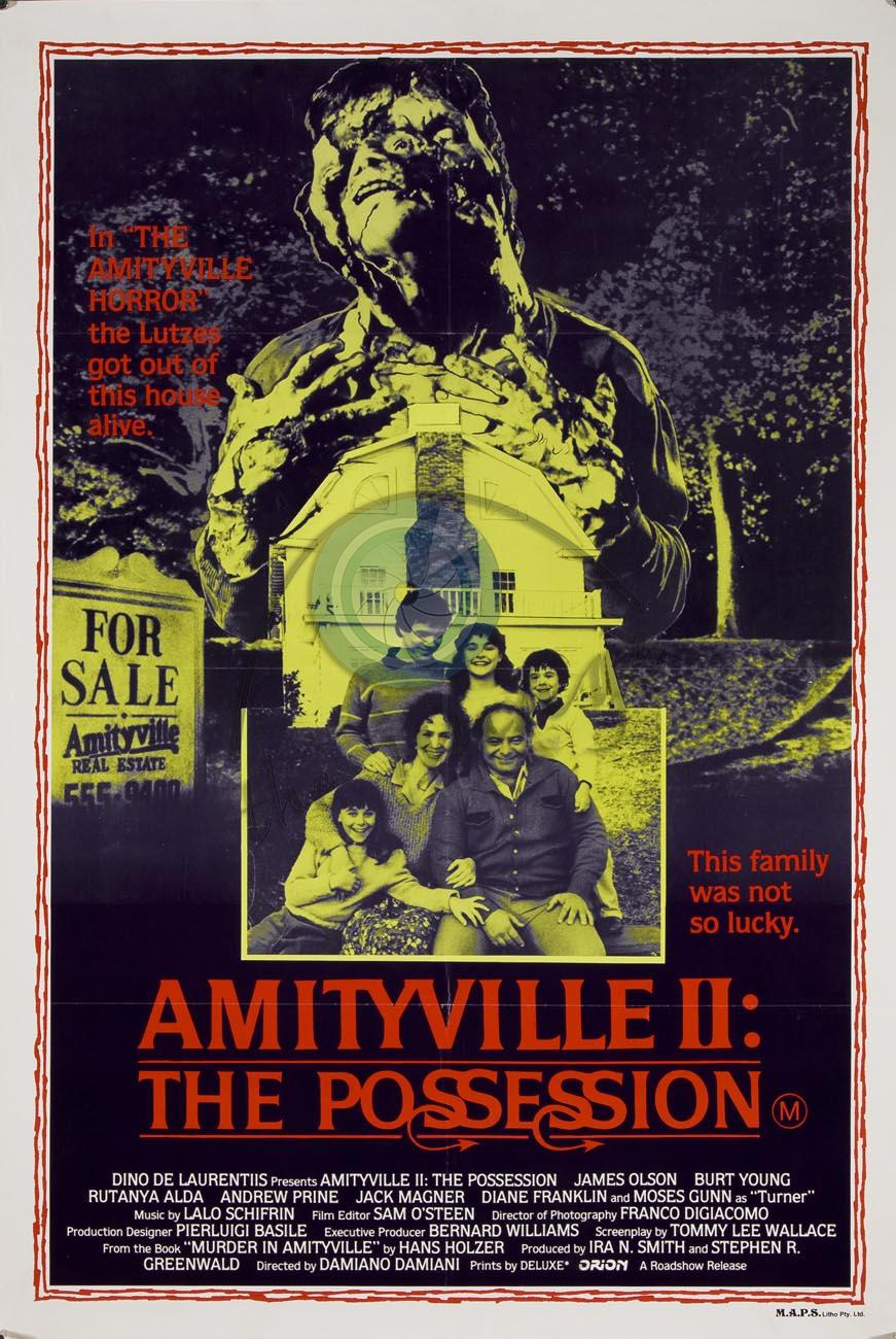 Diane franklin amityville ii the possession - 2 part 3