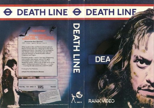 death line rank video VHS