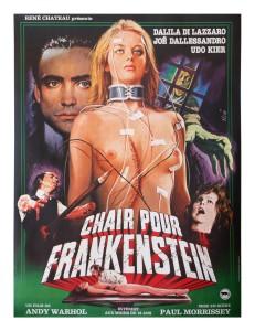 flesh for frankenstein french poster