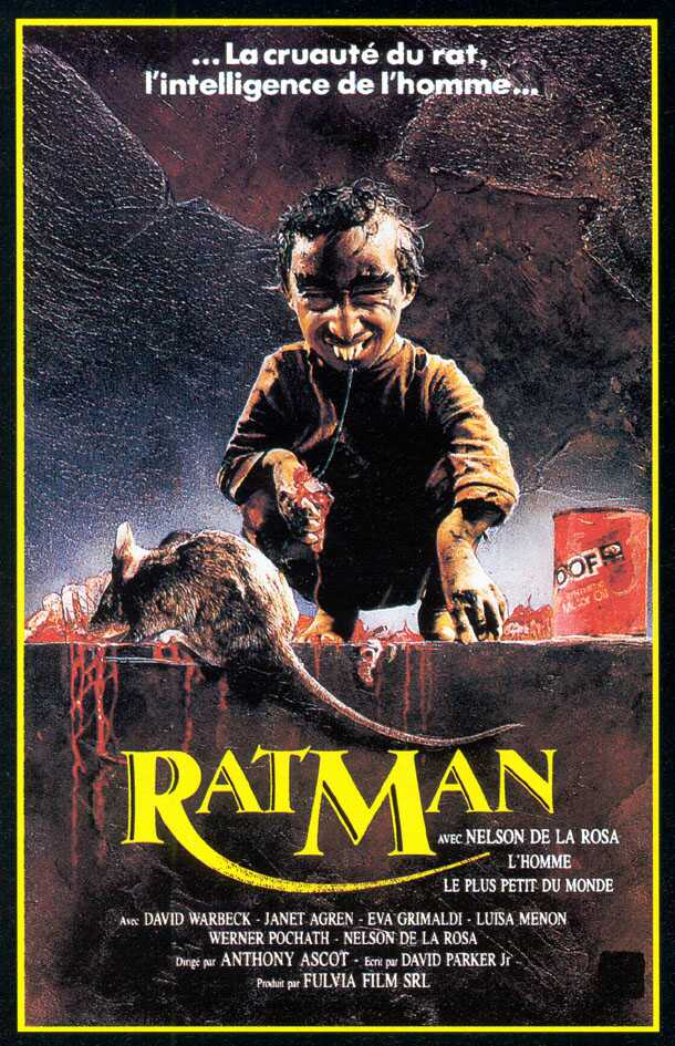RatMan (1988) – HORRORPEDIA