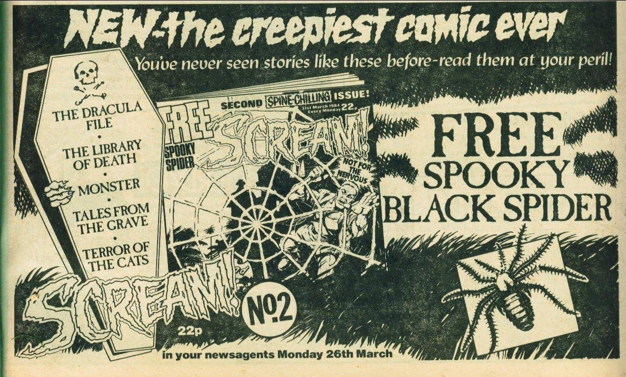 Scream Comic Horrorpedia