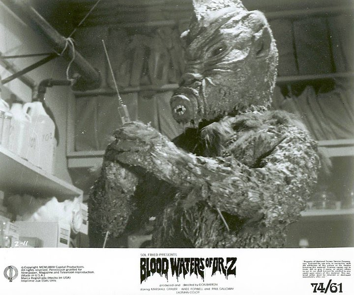 Zaat Aka Blood Waters Of Dr Z Usa 1972 Horrorpedia