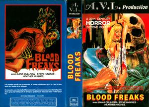 blod freak vhs