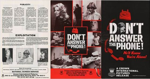 don't answer the phone crown international pictures
