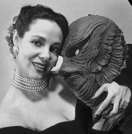 millicent patrick creayure from the black lagoon mask