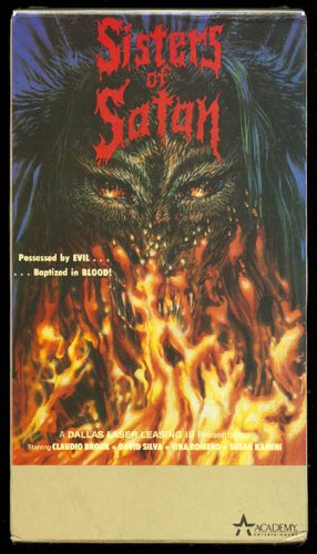 sisters of satan alucarda moctezuma Academy VHS
