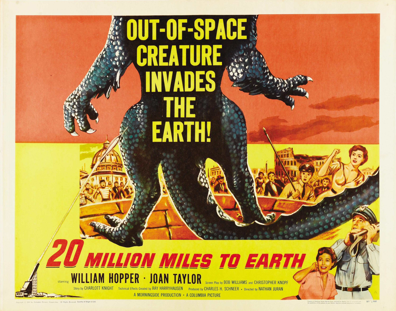 20 million miles to earth usa 1957 � horrorpedia