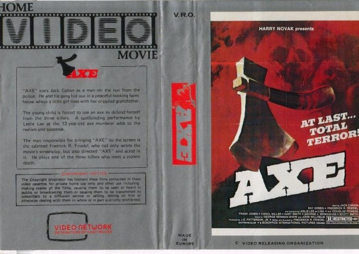 AXE VHS