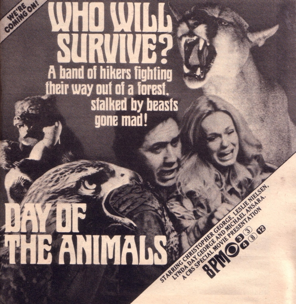 Day of the Animals – USA, 1976 – HORRORPEDIA