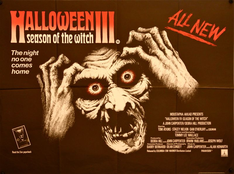 Halloween III: Season of the Witch – USA, 1982 – HORRORPEDIA