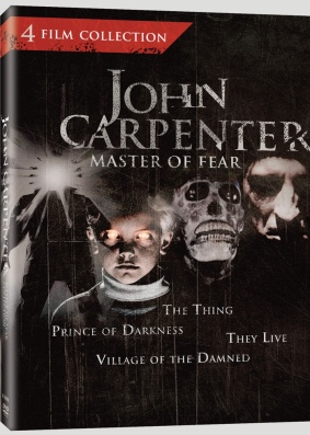 john carpenter master fear 4 film dvd collection