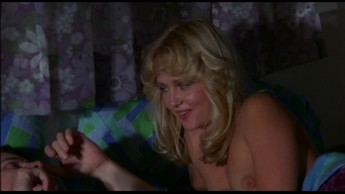 Linnea quigley in curse of the lesbian love goddess 10