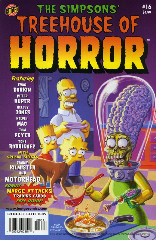 Simpsons halloween dvd collection
