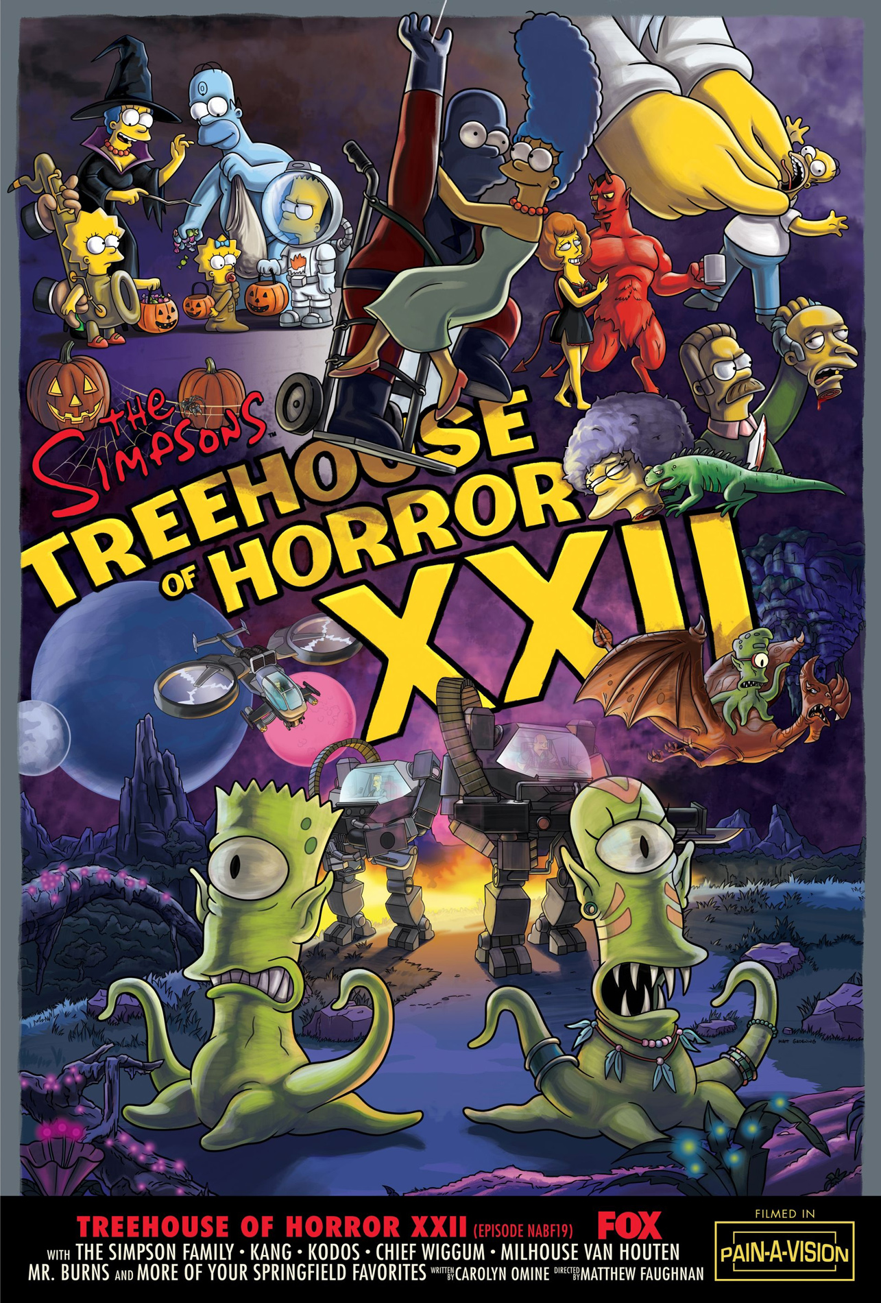 The Simpsons Treehouse Of Horror Horrorpedia