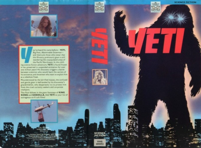 Yeti: The Giant Of The 20Th Century [1977]