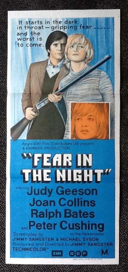 Fear in the Night Film Poster