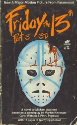 friday the 13th part 3 book