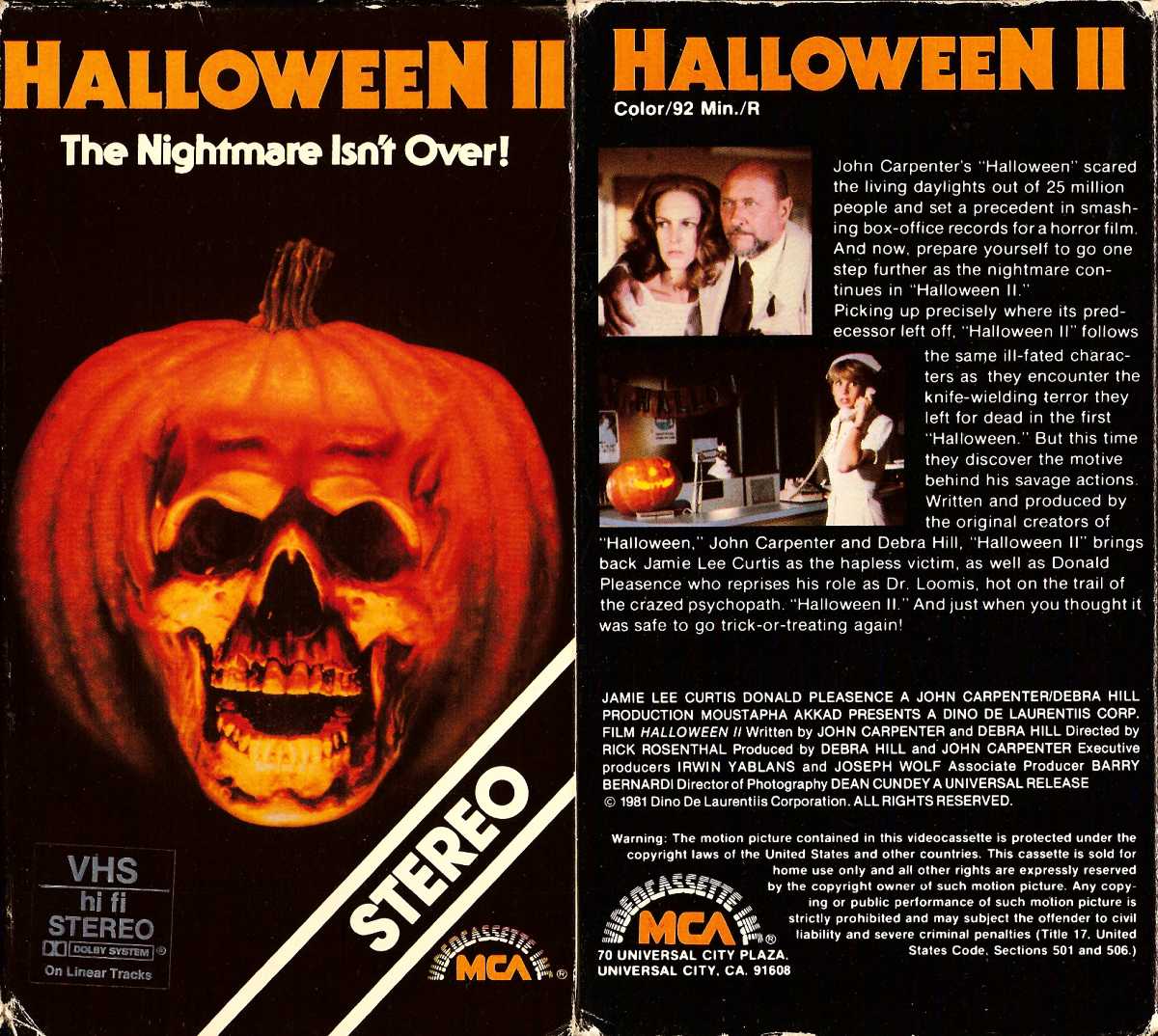 halloween 2 - Halloween 2 Wikipedia