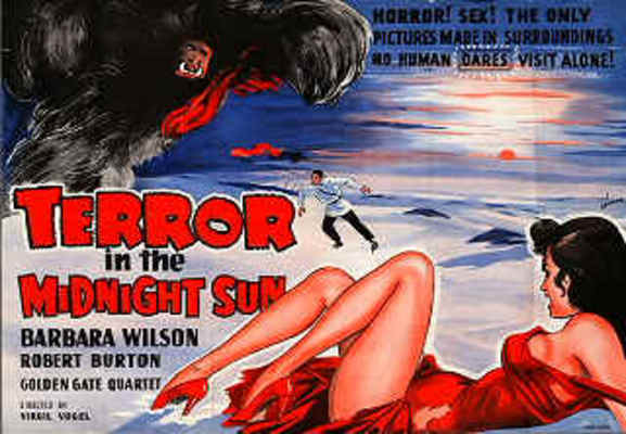 Movie posters terror in the midnight sun