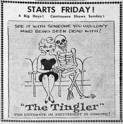 the tingler 1959 ad mat
