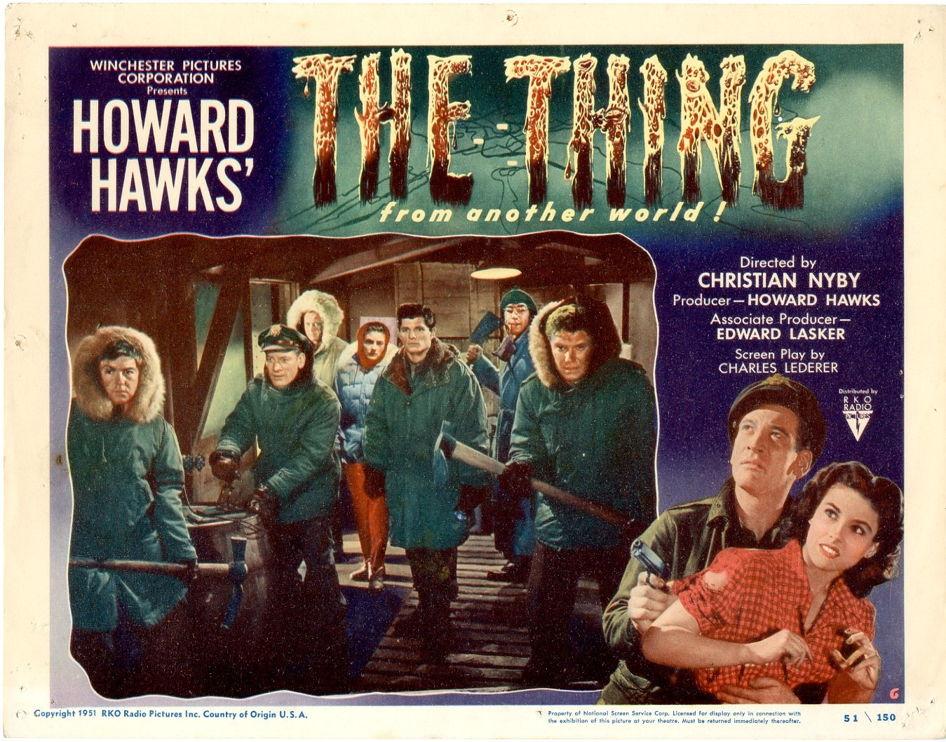 the thing from another world � usa 1951 � horrorpedia