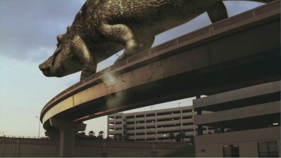 Dinoshark vs crocosaurus