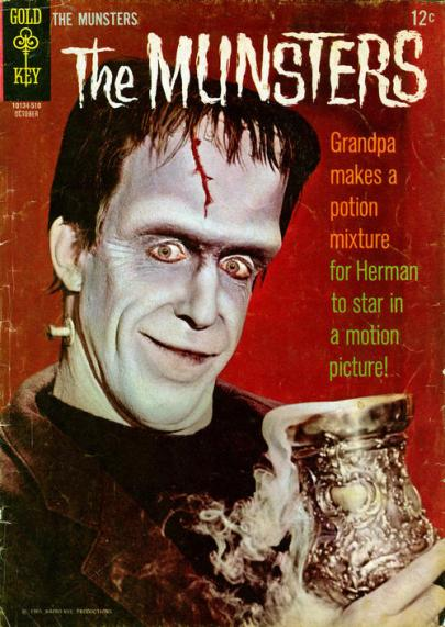 munsters gold key comic horrorpedia