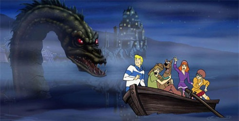 Real nessie is captured on film and seen by scooby doo scooby doo real