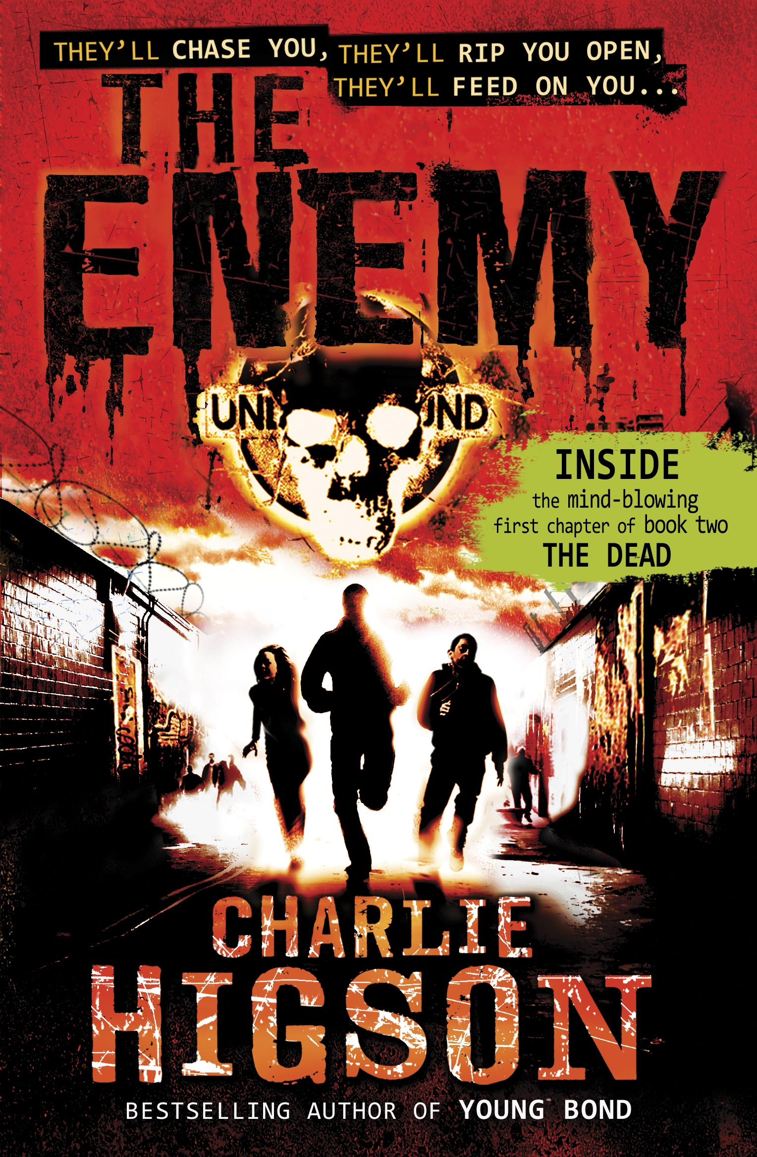 Book Cover Series Questions : Charlie higson author horrorpedia