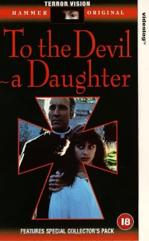 To the Devil a Daughter Warner Terror Vision VHS